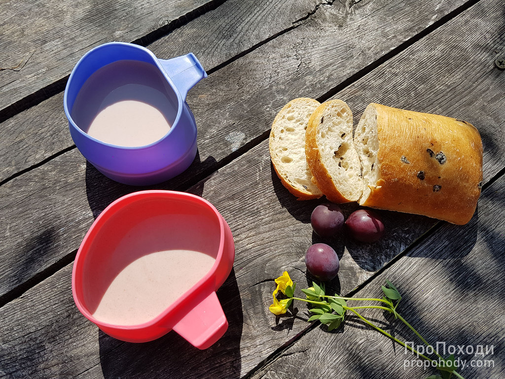 Сніданок в горах