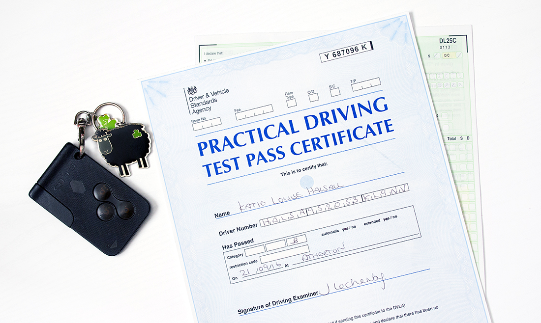 I Passed My Driving Test | lifeofkitty.co.uk