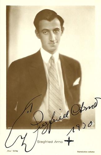 Siegfried Arno