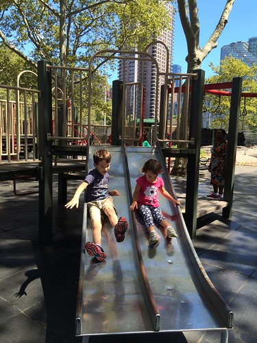 De Witt Clinton Park, NYC 2016