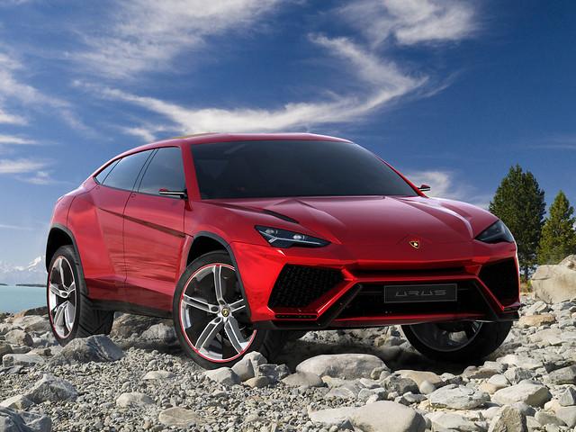 Кроссовер Lamborghini Urus. Концепт 2012 года