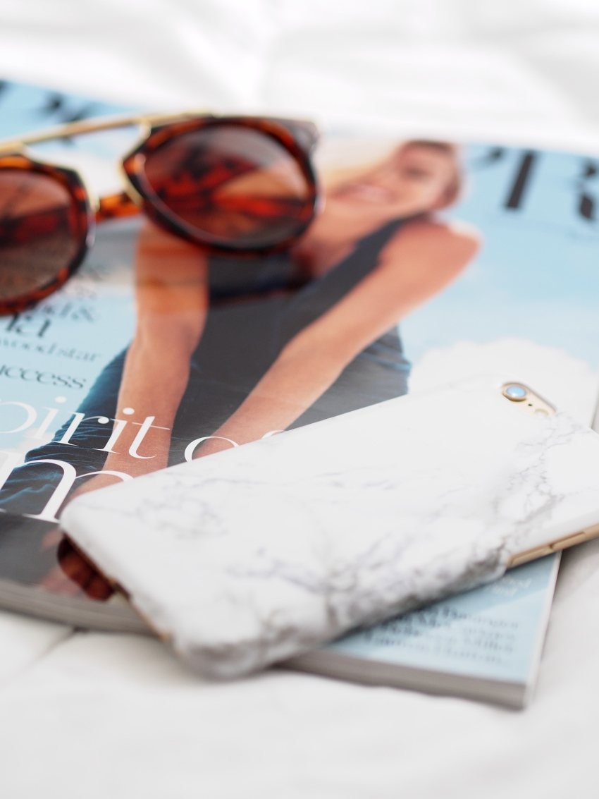 Coconut Lane, marble phone case, leopard sunglasses