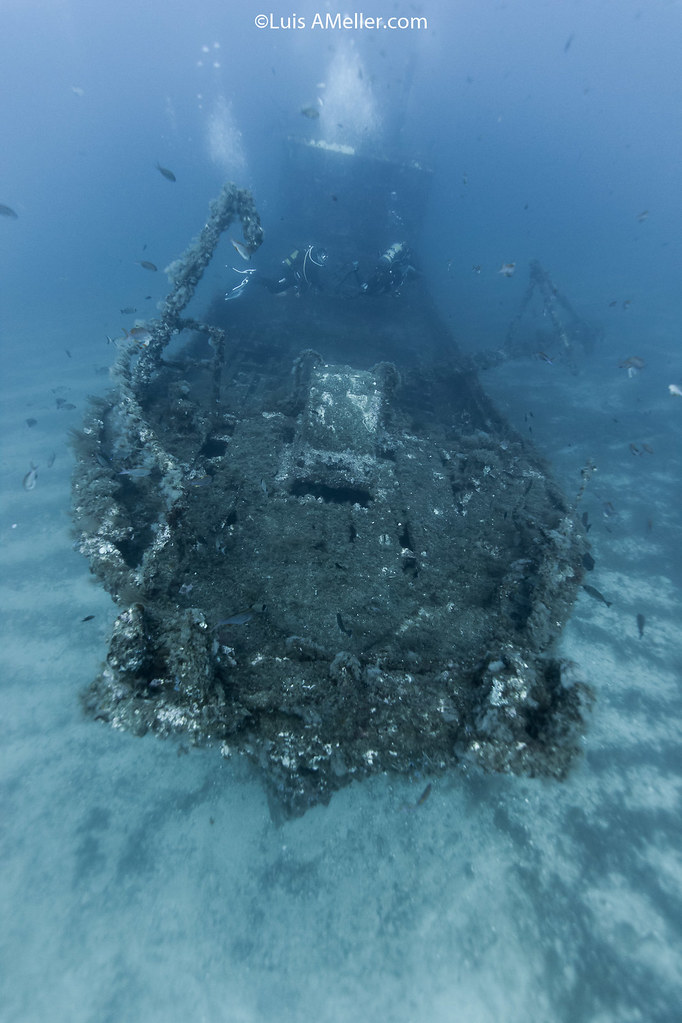Santa clara wreck menorca