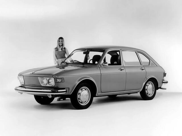 Четырёхдверный седан Volkswagen 412. 1972 – 1974 годы