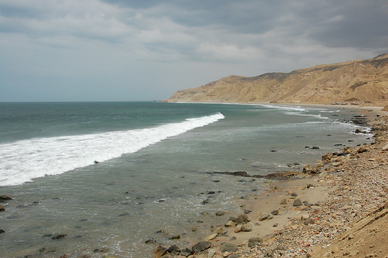 Views from Cabo Blanco, Talara, Piura, Peru
