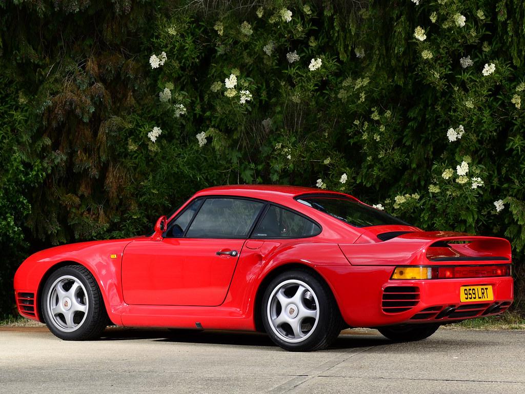 Porsche 959. 1987 – 1988 годы