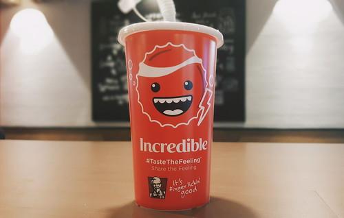 Coke x KFC Emojicups