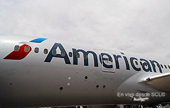 American Airlines B787 fuselaje (RD)