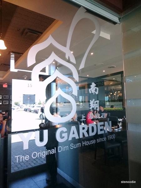 Yu Garden logo