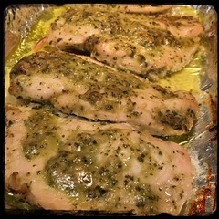 #Pesto #Roasted #Chicken #Homemade #CucinaDelloZio -