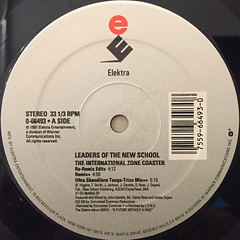 LEADERS OF THE NEW SCHOOL:THE INTERNATIONAL ZONE COASTER(LABEL SIDE-A)