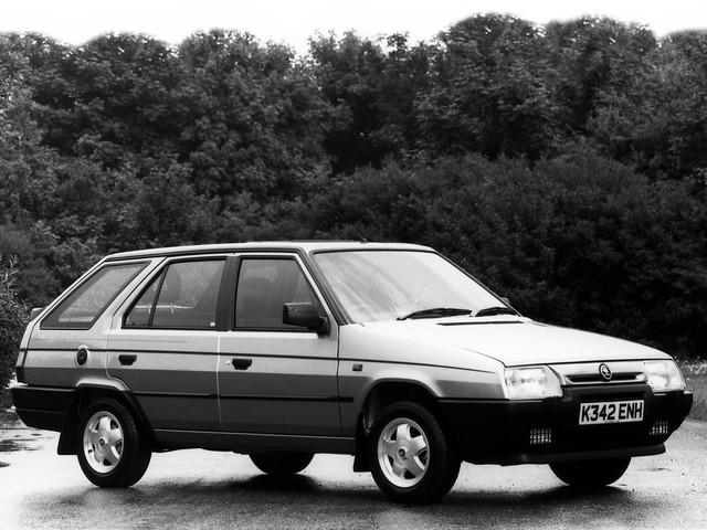 Универсал Skoda Favorit Estate Silverline. 1993 - 1995 годы