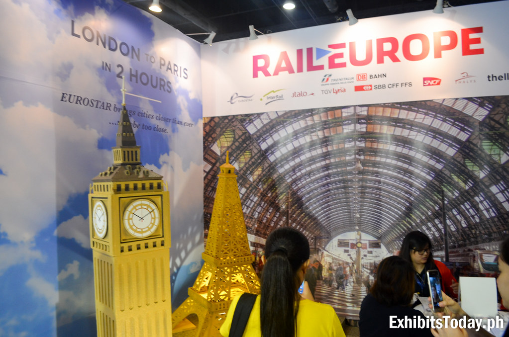 Rail Europe Exhibit Booth