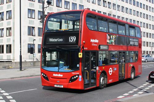 Metroline TEH1235 LK61BKZ