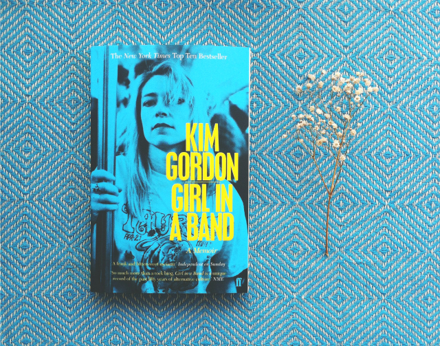 girl in a band kim gordon book haul