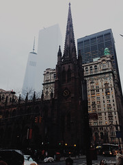 Trinity Church. New York. USA