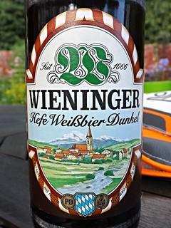 Wieninger, Hefe Weißbier Dunkel, Germany