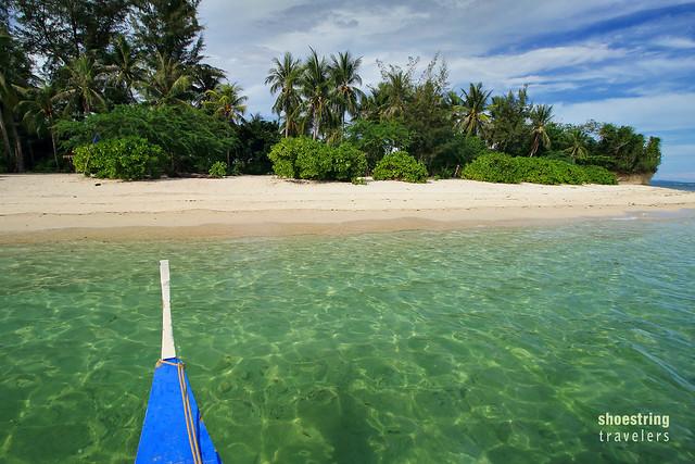approaching Dampalitan Beach, Padre Burgos