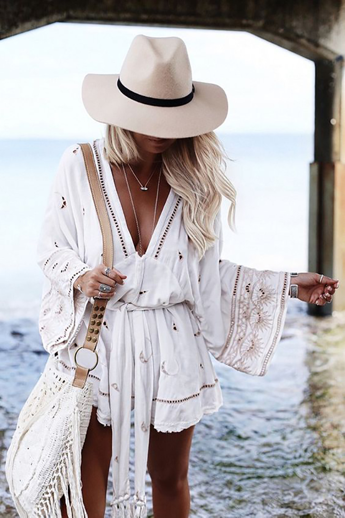 Beach outfits summer street style inspiration fashion style accessories14