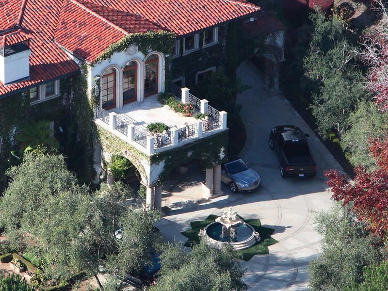 Дом Хайди Клум в Брентвуде, Лос-Анджелес