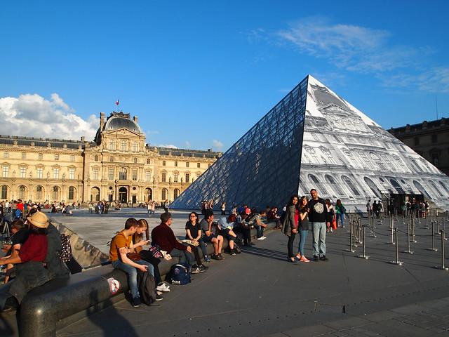 P5281773 パリ ルーブル美術館 フランス paris louvre