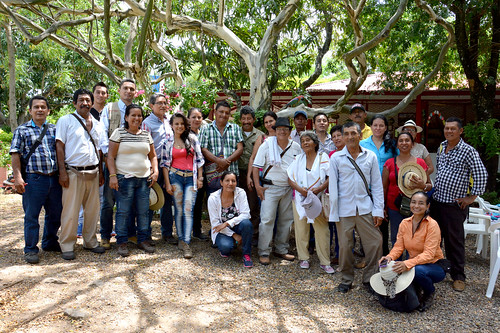 Fieldtrip of Natagaima's CSV committee to Alvarado, Tolima