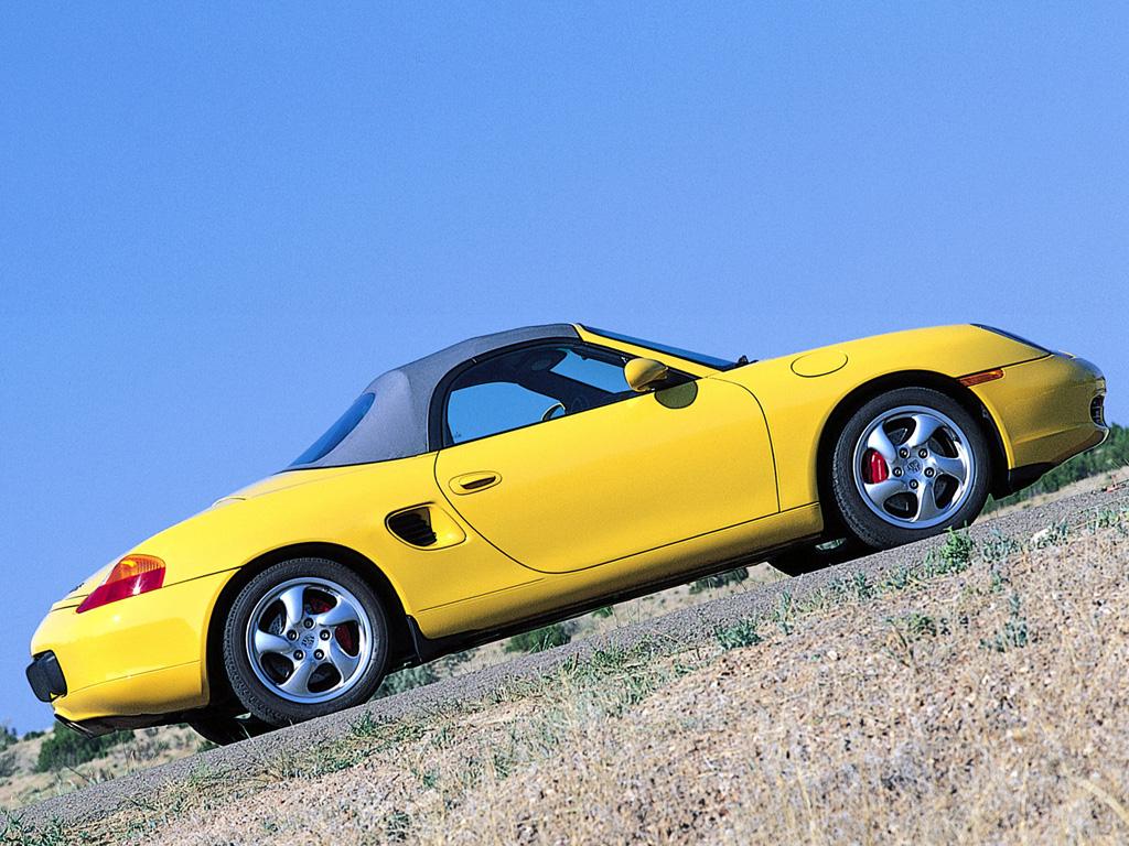 Porsche Boxster S для рынка США (кузов 986). 2000 – 2003 годы
