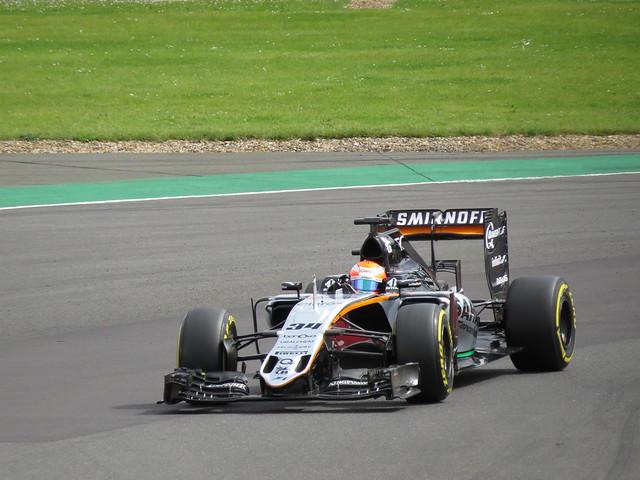 Silverstone F1 Test 2016