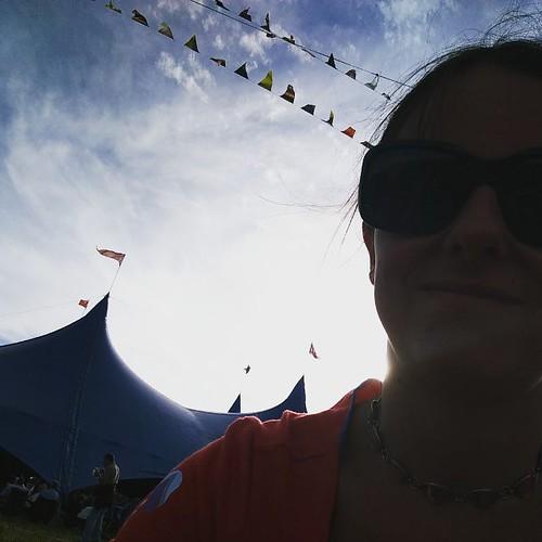Op mijn favoriete plekje. @festivaldranouter #dranouterfest16 #blauwpoort2016