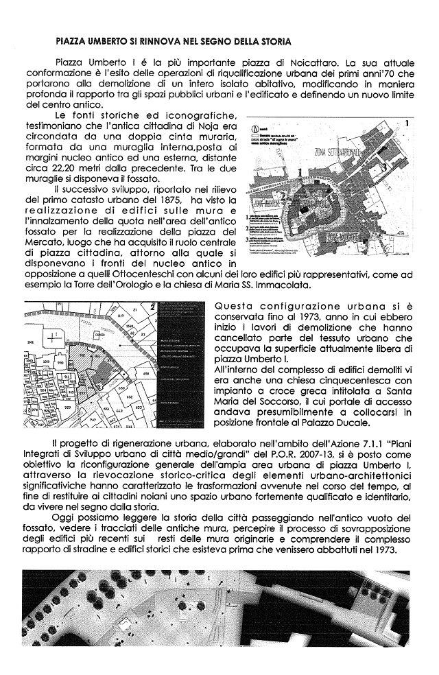 Noicattaro. Inaugurazione piazza Umberto I intero1