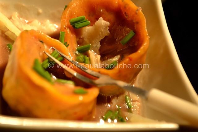 Tortellini Aux Epinards & Ricotta Sauce au Gorgonzola © Ana Luthi Tous droits réservés 046