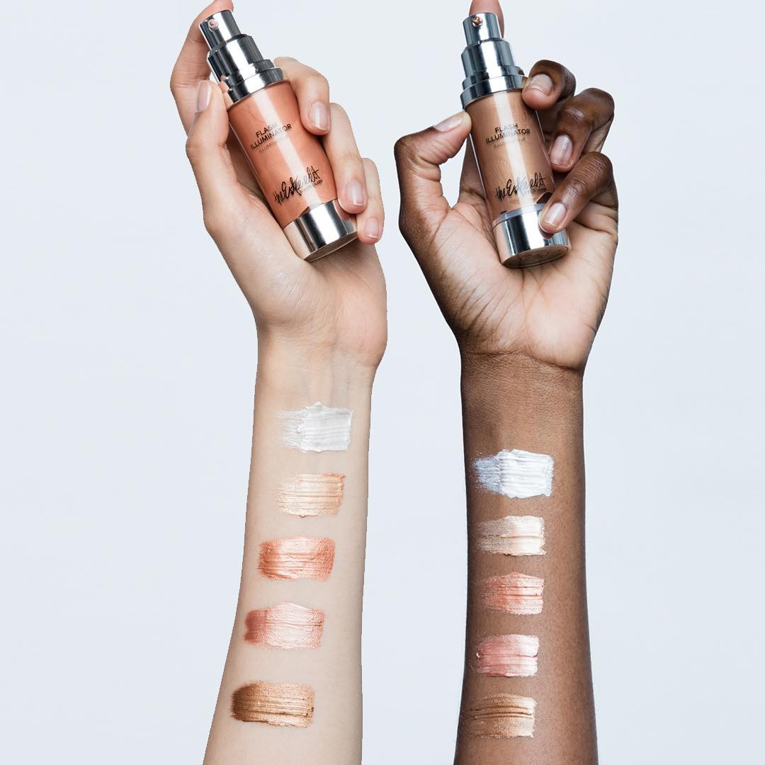 The Estée Edit by Estée Lauder Flash Illuminator Swatches