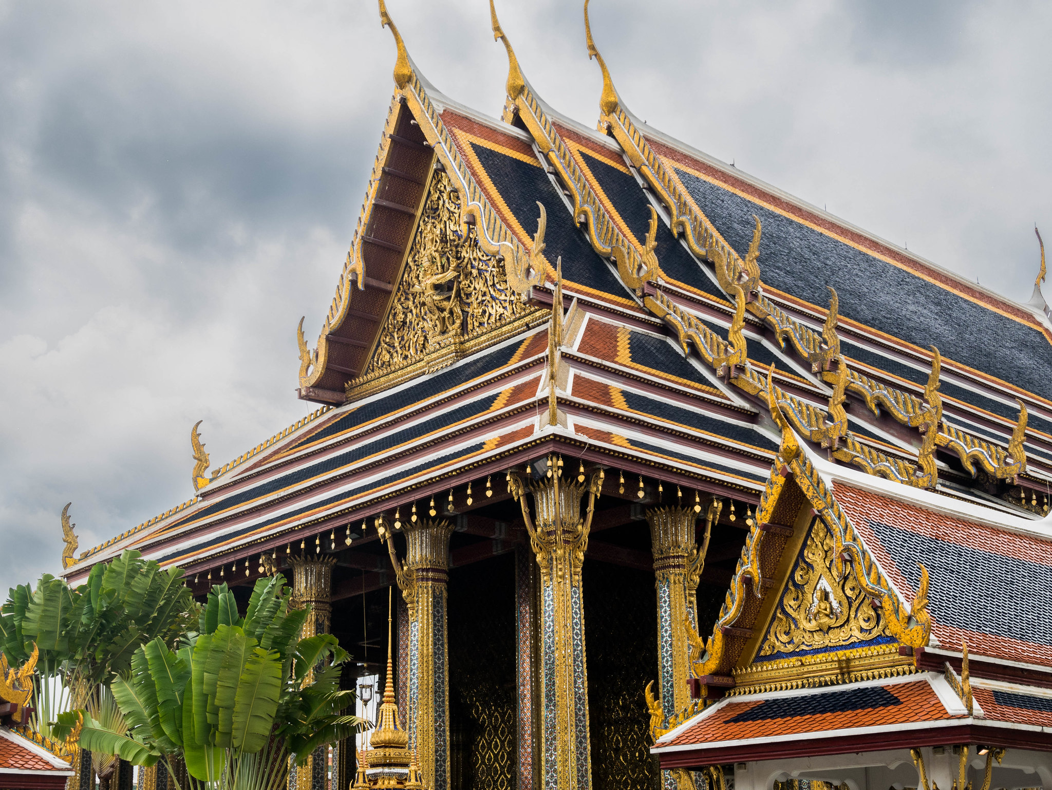 Colorful monument at Grand Palace