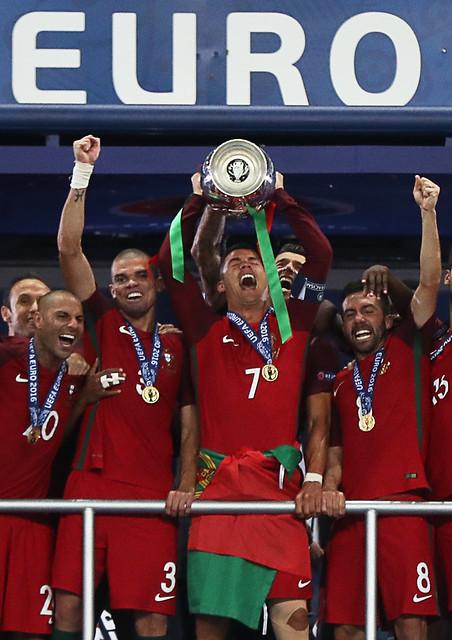 Portugal gana su primera Eurocopa