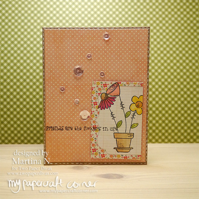 Friends card - Card #455