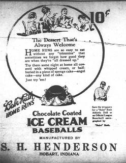 2016-9-17. Home Run ice cream ad