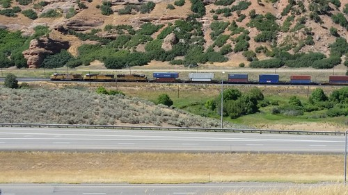 Trains in Echo Canyon