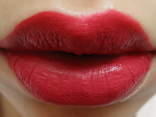 Palladio Velvet Matte Lip Cream Color Brocade Swatch Review