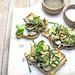crostini stracciatella zucchine