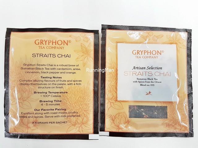 Gryphon Tea Straits Chai