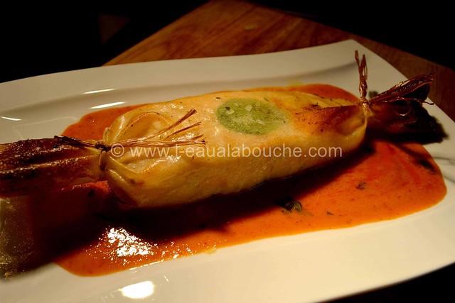 Saumon Croustillant aux Herbes et au Curry  © Ana Luthi Tous droits réservés 026