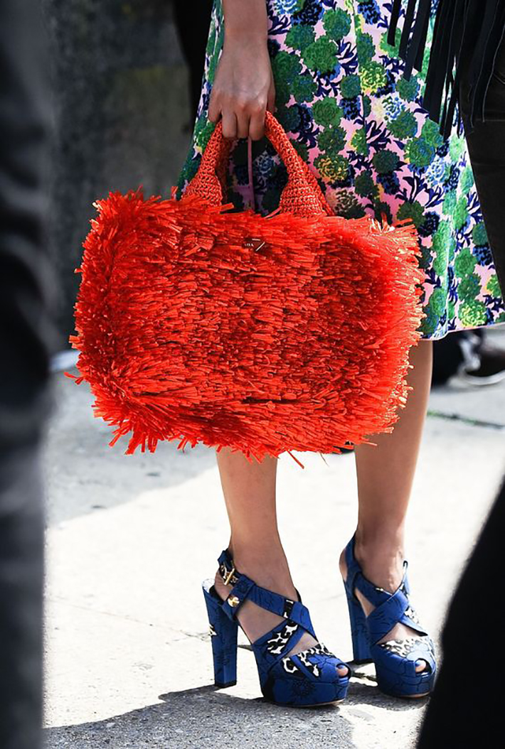 raffia and wicker bags summer street style inspiration fashion style accessories1