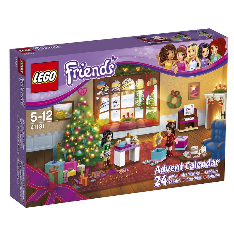 LEGO Advent Calendars 2016: Friends 41131