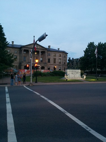 Province House at twilight