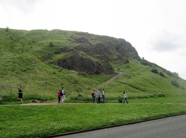 Salisbury Crags from car park