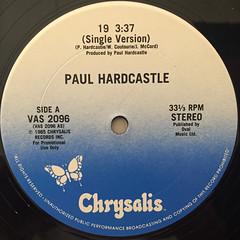 PAUL HARDCASTLE:19(LABEL SIDE-A)