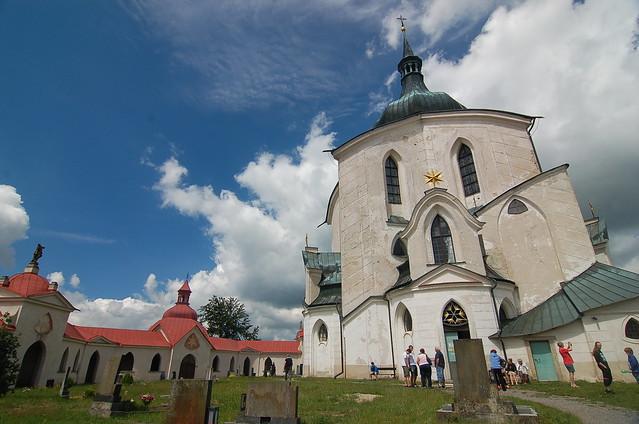 Poutní kostel Svatého Jana Nepomuckého na Zelené hoře