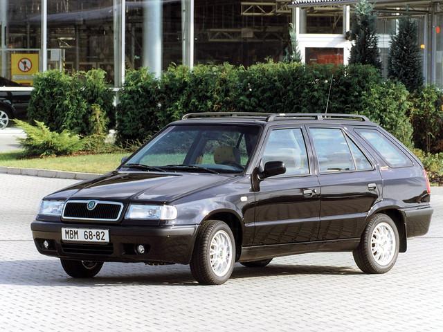 Универсал Skoda Felicia Combi. 1998 - 2001 годы производства