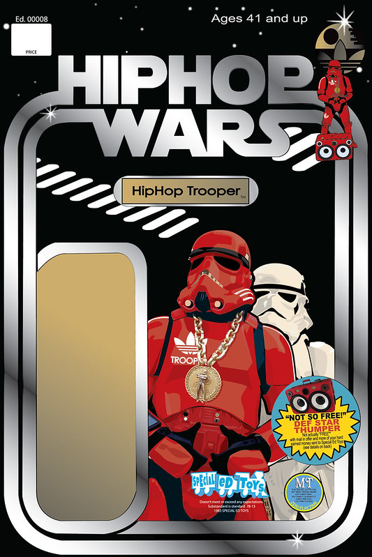 hip hop trooper cardNEW
