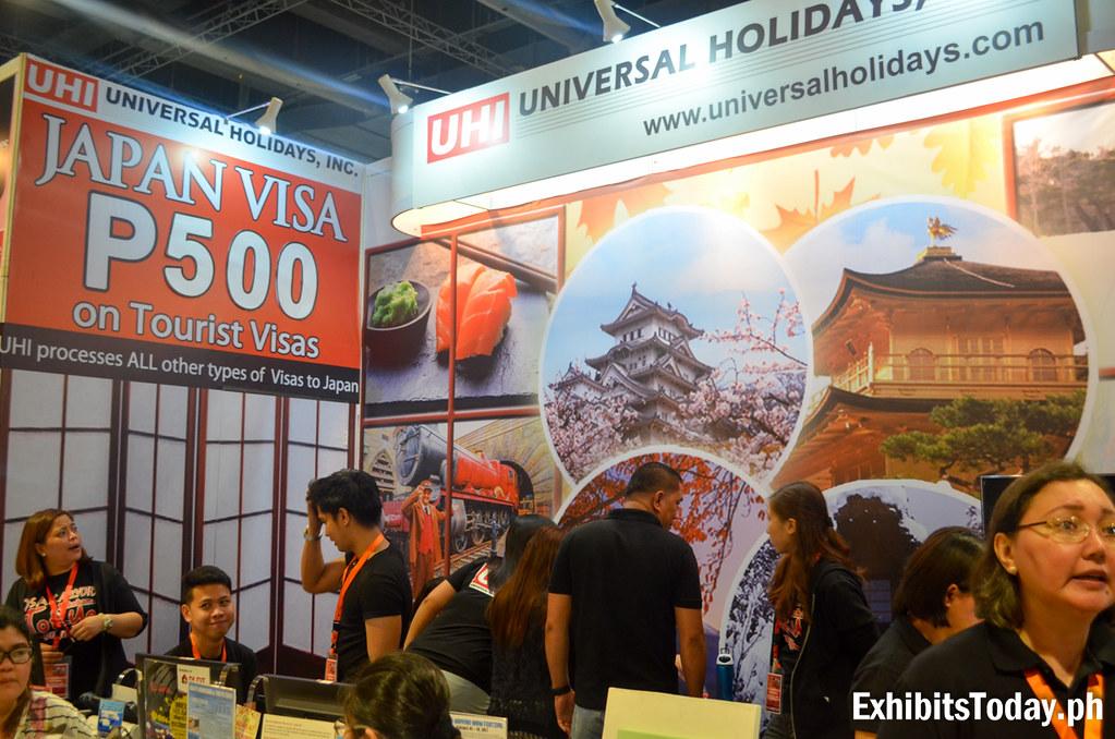 Universal Holidays Inc. Exhibit Booth
